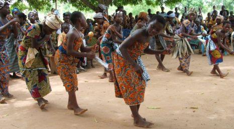 Dancers, HIV AIDS awareness day, Vacpo, Volta Region1