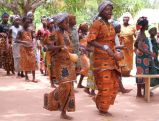 Women dancing at the HIV/AIDS awareness day