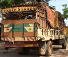 Transporting yams to market