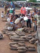 Yam market