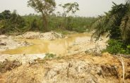 Damage caused by mining