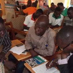 Civil society training workshop, advocacy for water and sanitation Northern Region