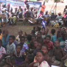Community durbar, rights to water and sanitation Northern Region