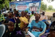 Community durbar, rights to water and sanitation, Northern Region