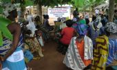 Training in sustainable agriculture at Derma